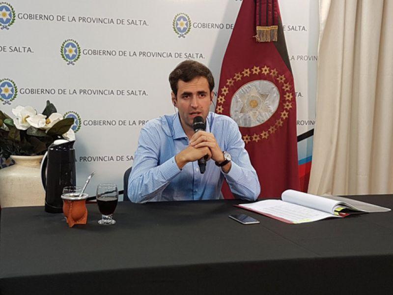 Emiliano Estrada, ministro de Economía informará al Senado el estado general de la provincia y los proyectos para el año 2018.