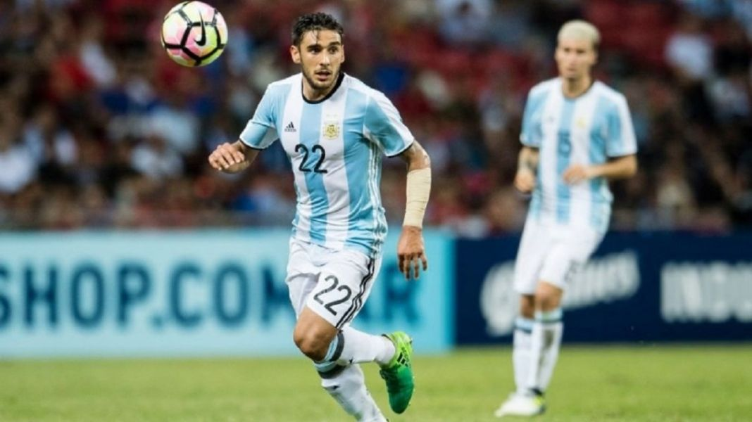 Eduardo Salvio fue dado de baja de la gira argentina.