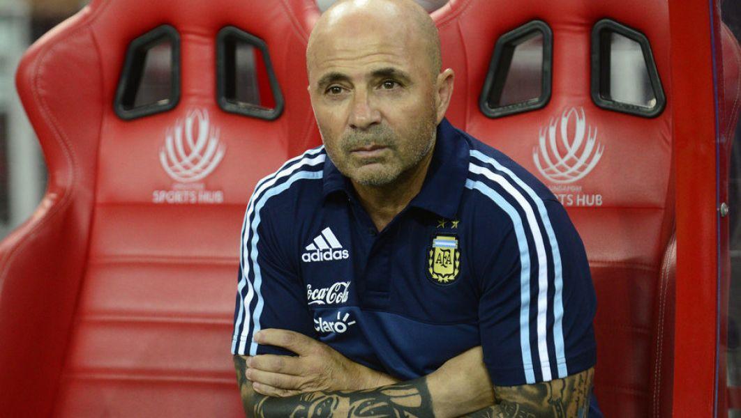 Jorge Sampaoli, DT del seleccionado Argentino.