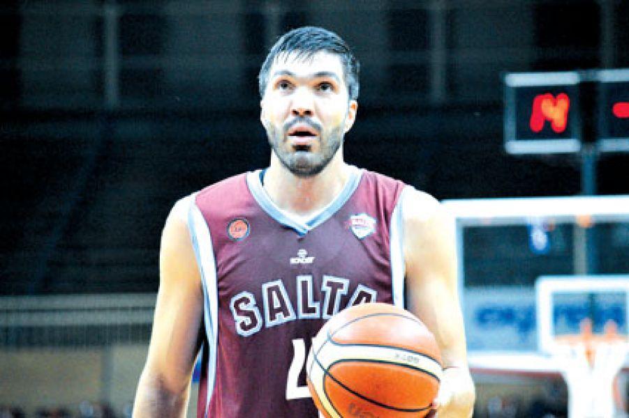 Alejandro Zilli, uno de los jugadores de mayor constancia en Salta Basket.