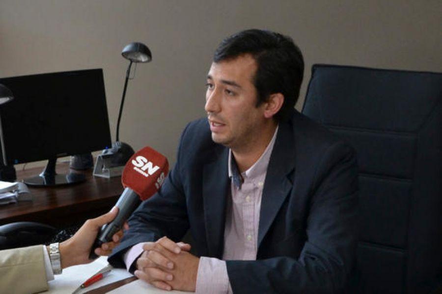 Pablo Rivero, fiscal penal de la UGAP, nvestiga la muerte del joven encontrado en la calle Ejército de los Andes.