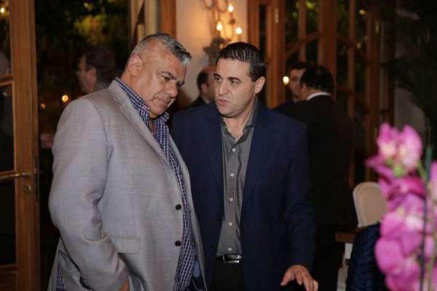 """Claudio """"Chiqui"""" Tapia junto a Pablo Toviggino. Gentileza: Ascenso del Interior."""