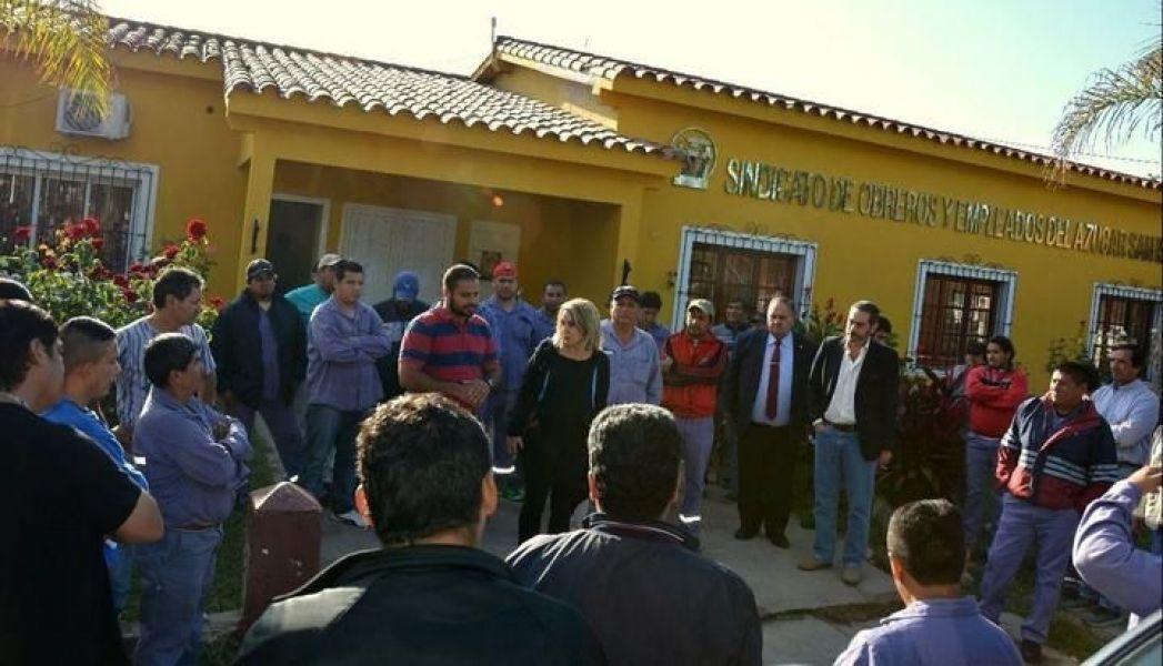 Trabajadores del Ingenio San Isidro siguen esperando la reactivación.