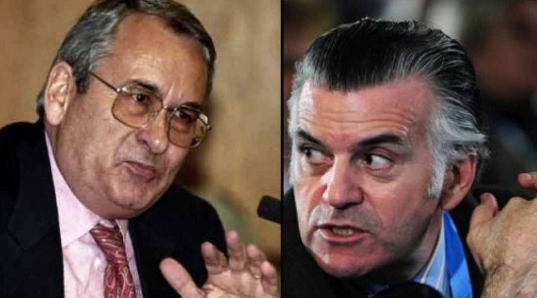 Alejandro Sanchís (dcha), y Luis Bárcenas (izq), ambos ex tesoreros del Partido Popular, fueron condenados por un año y 33 años respectivamente.