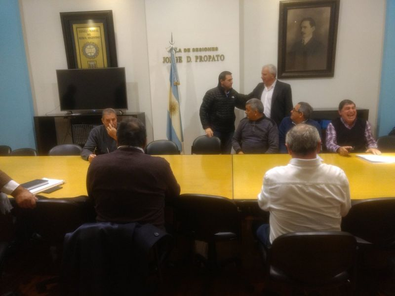 Los delegados federales se reunieron ayer con el Consejo Federal. Gentileza: Santi Dezio