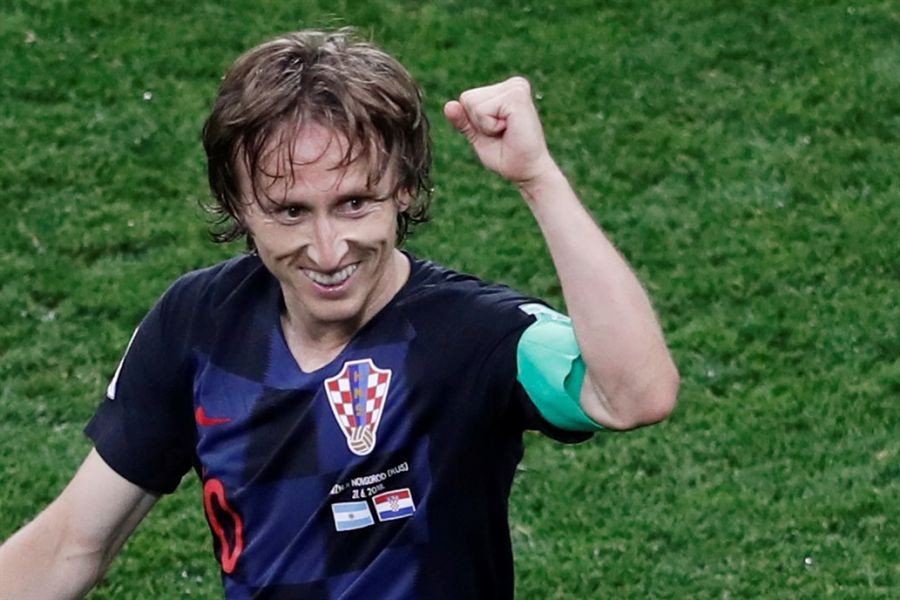 Modric, figura de Croacia, con una dura historia de vida.