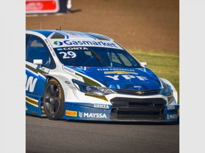 Facundo Conta estrenará un nuevo Chevrolet Cruze en El Zonda, el fin de semana