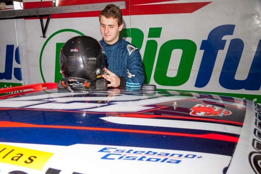 Esteban Cistola terminó segundo en la serie del TC Mouras.