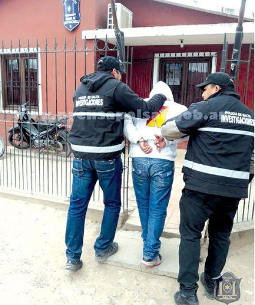 En Joaquín V. González detuvieron a un joven sospechado de ser motochorro.