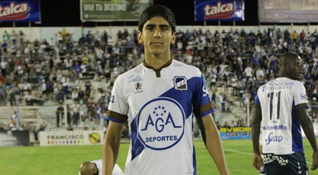 Ricardo Gómez, jugador de Juventud Antoniana.