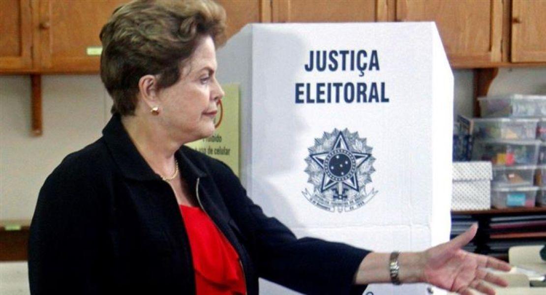 La ex mandataria brasileña Dilma Rousseff.