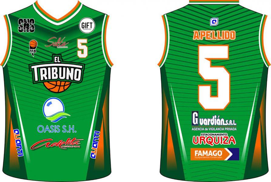 La nueva camiseta del Verdolaga, diseñada por una empresa salteña.