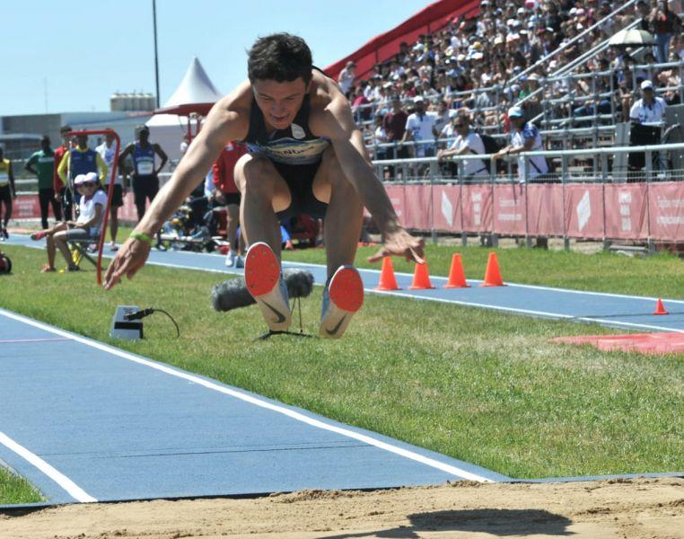 El salteño Luciano Méndez no pudo repetir sus mejores marcas