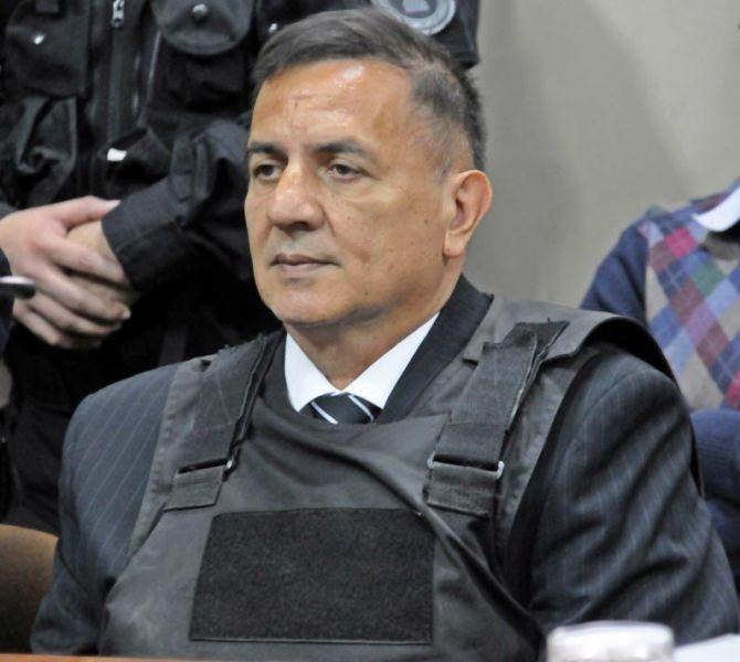 """El ex juez Raúl Reynoso estuvo vinculado con la causa de los dos imputados por narcotráfico, Pedro Britez y """"El ñato"""" Sarmiento."""