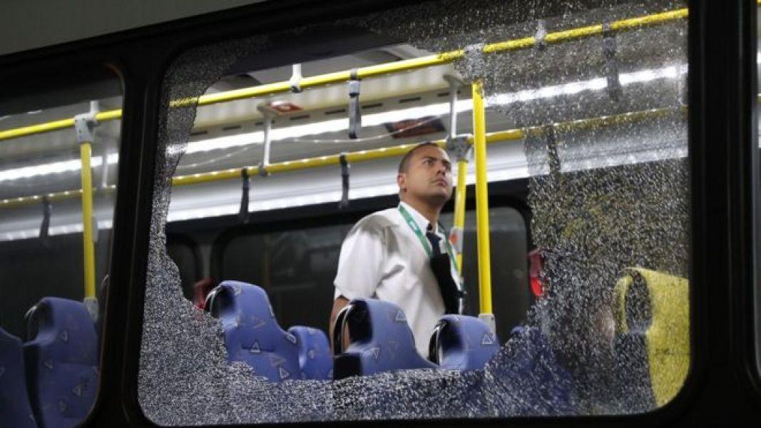 Atacan un autobús con periodistas en las Olimpiadas de Río 2016