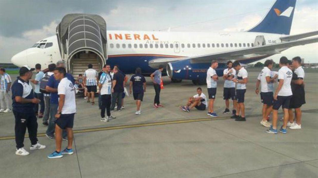 El vuelo que no fue en Ecuador. Ahora el Decano irá a Cartagena.