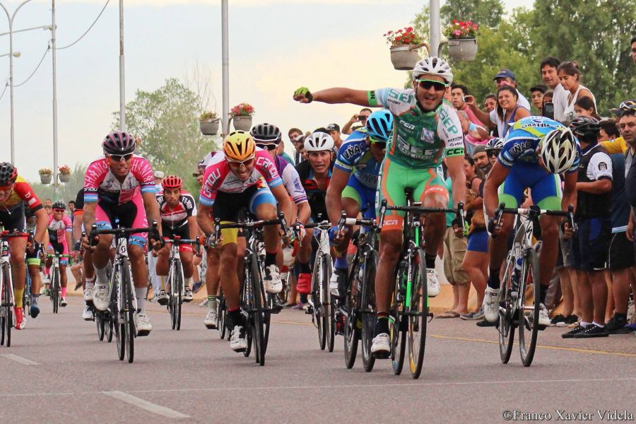 Juan Pablo Dotti ganó la cuarta etapa de la Vuelta a Mendoza y es el primero en repetir triunfo parcial, luego de ganar también en la segunda etapa