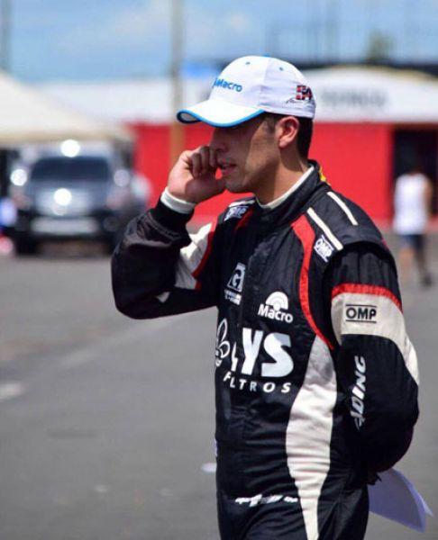 Marcos Urtubey largará en segunda fila en el TR Series.