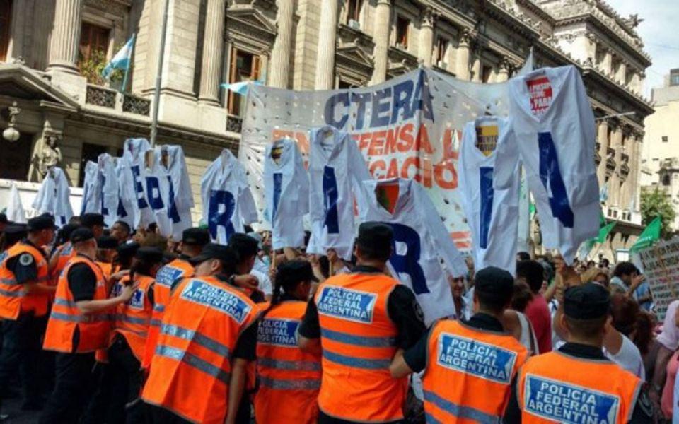 """Desde CETERA se ratifica que """"el Gobierno está incumpliendo con la ley al no convocar a paritaria nacional""""."""