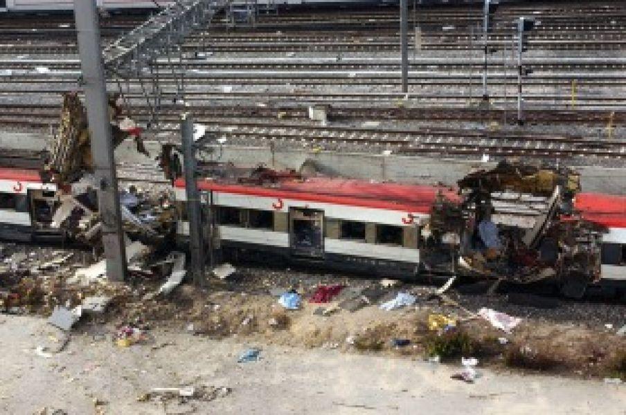 Uno de los terribles atentados ocurrió en la estación de Atocha.