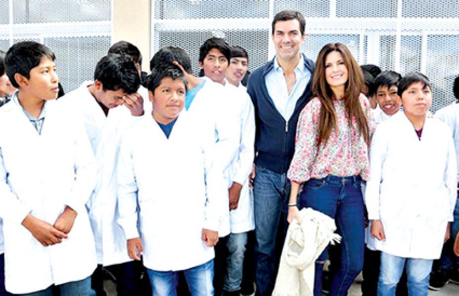 Un edificio educativo nuevo para 120 alumnos fue inaugurado en el paraje Palermo Oeste de Payogasta.