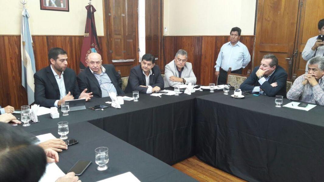 El ministro de Producción, Javier Montero, explicó el tema Salta Forestal ante los senadores.