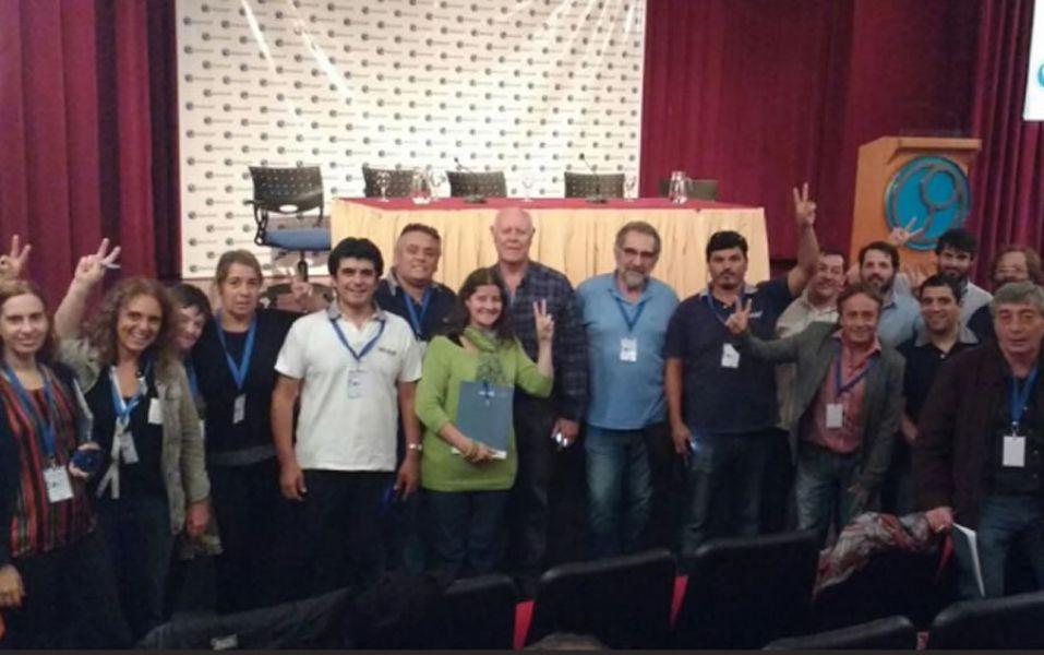 Delegados de CONADU Histórica en el Congreso del viernes donde decidieron profundizar las medidas de fuerza..