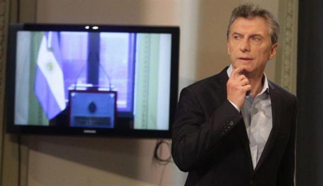 Los conflictos sociales afectan la imagen del presidente Macri.
