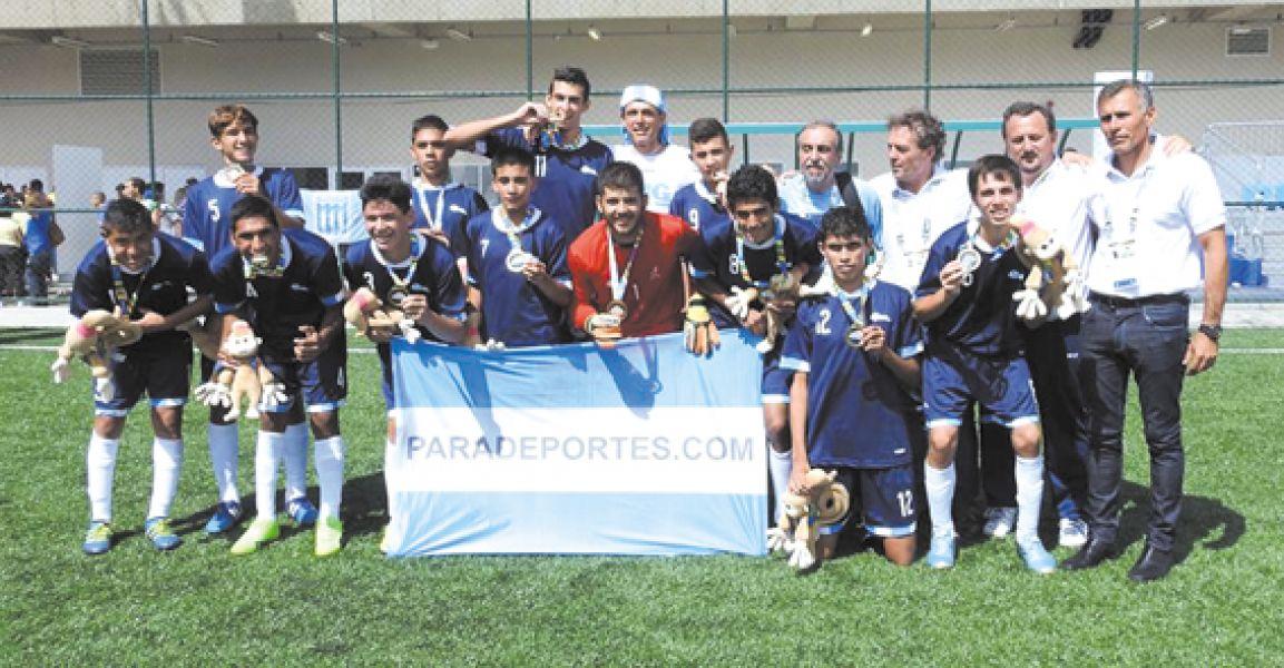 Los Tigres se quedaron con el oro en los Juegos Parapanamericanos.