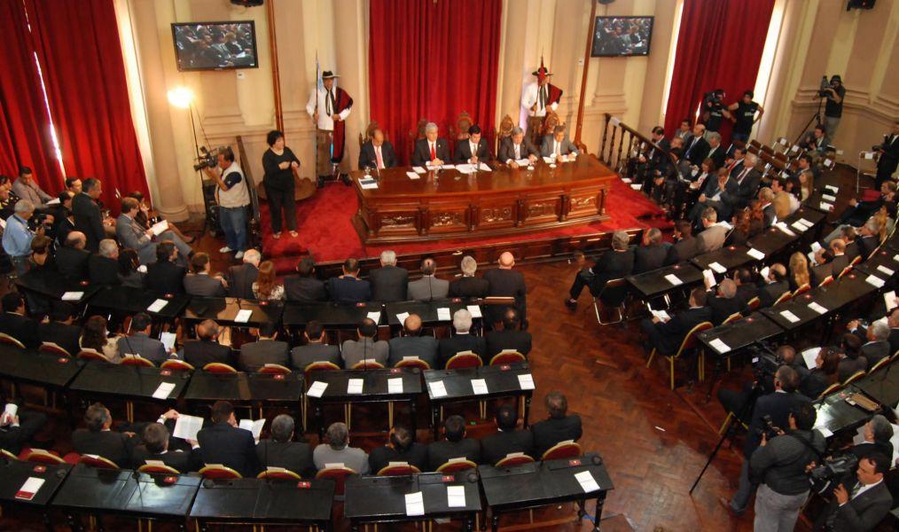 El acto de inicio del año de sesiones legislativas será transmitida en vivo por la página oficial www.salta.gov.ar.