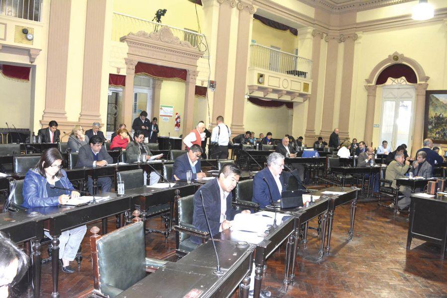 Diputados durante la sesión trataron la modificación al Código Contravencional que surgió a pedido de la ADP.