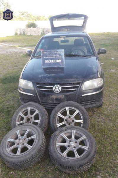 El vehiculo recuperado fue robado en Entre Ríos al 900