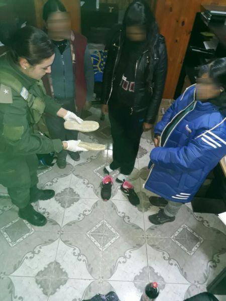 La cocaína secuestrada significa alrededor de 6000 dosis.
