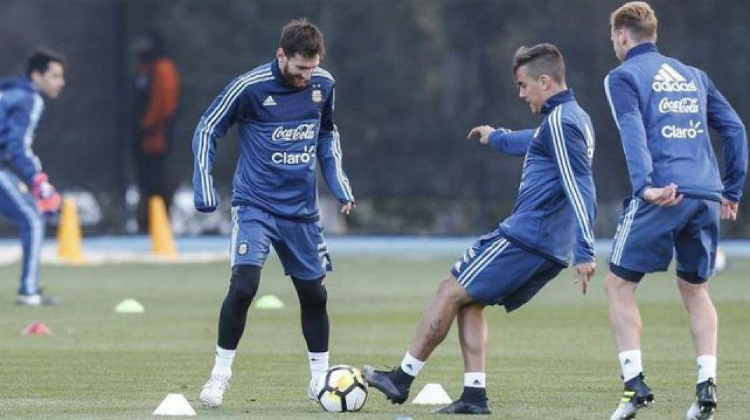 Lio Messi será titular contra Brasil.