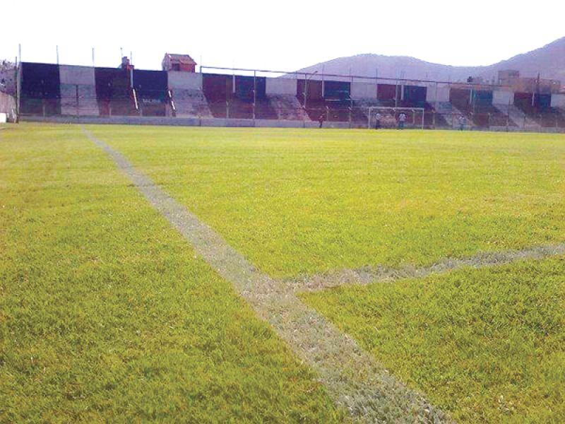 El estadio Fray Honorato Pistoia.