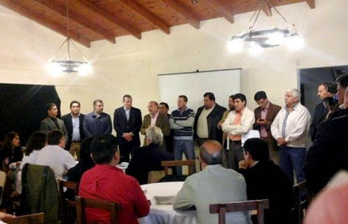 Reunión en Metán con equipos de salud de varios municipios.