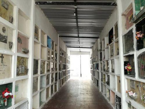 Las mejoras en el cementerio de la Santa Cruz continuarán sobre otros sectores críticos como las galerías O, P, y Q,