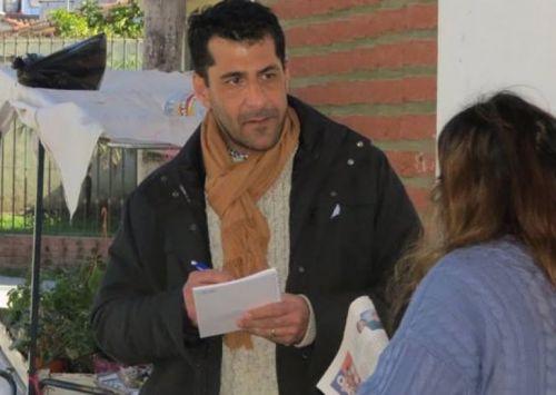 El precandidato a diputado provincial Héctor Chibán afirma que trabaja para cambiar la realidad de Salta.
