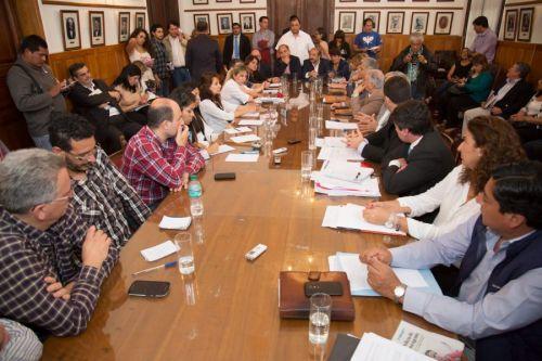 Repercusiones de la reunión de diputados de distintos bloques con funcionarios de Seguridad.