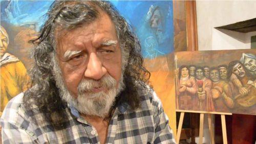 Andrés Gauna, autor de la muestra.
