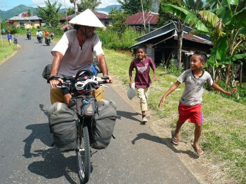 Pablo García disfruta de su paso por Indonesia