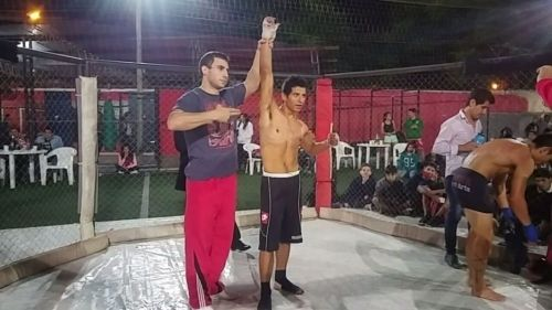 Sergio Ruíz le ganó por KO al jujeño Gonzalo Díaz