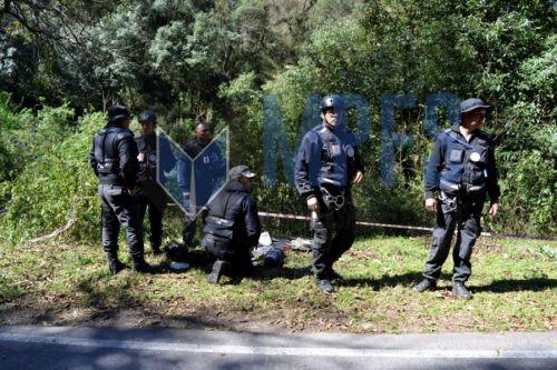 El cuerpo de Paola Álvarez fue encontrado a 10 metros de la ruta 9, en el camino a la cornisa en La Caldera.