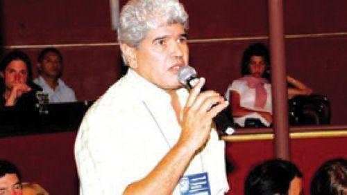 """""""Marcharemos contra el ofrecimiento paupérrimo y los porcentajes ínfimos"""", dijo Pablo Medrano, secretario de la CTA y titular de la UCRA en Salta."""