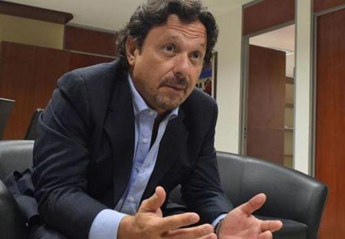 """El Intendente Gustavo Sáenz entendió que esa filtración de audio fue una """"tarea de inteligencia peligrosa""""."""