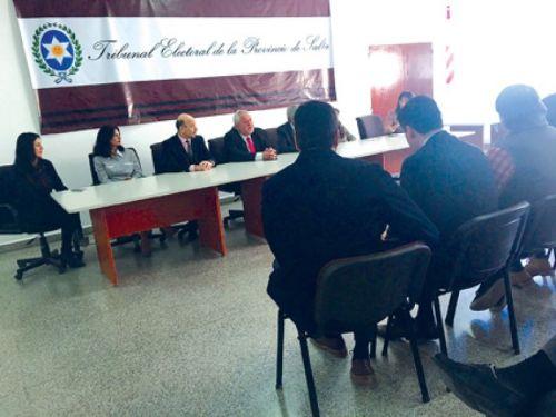Guillermo Catalano presidió la audiencia final en el Tribunal Electoral, con el que concluyó el recuento definitivo de las PASO 2017.