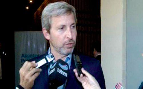 Rogelio Frigerio, Frigerio negó un ajuste en la economía tras las elecciones y defendió el criterio que el Gobierno para asignar la obra pública.