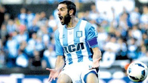 """Lisandro """"Licha"""" López, logró igualar el marcador."""