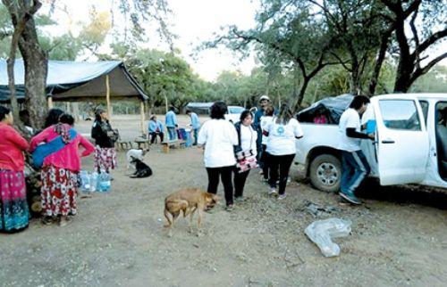 """En la Comunidad Zopota, a 120 Km de Mosconi, afirman que """"en el Ministerio de Asuntos Indígenas conoce nuestra situación""""."""