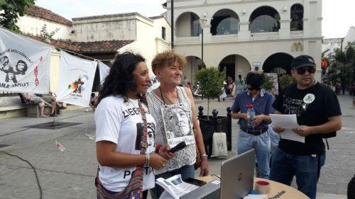 Mónica Sánchez, y Rubén Conrado Martínez.